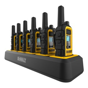 DeWALT DXFRS300 Six Pack Bundle (6 Radios + Multi-Charger)