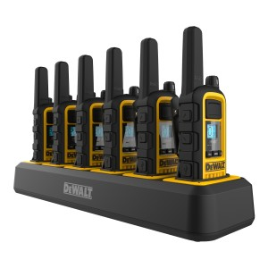 DeWALT DXFRS800 Six Pack Bundle (6 Radios + Multi-Charger)