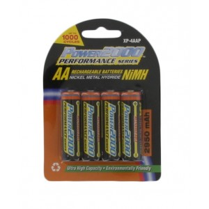 "Rechargeable ""AA"" NiMH Battery For Handheld CB Radios (4 pack)"