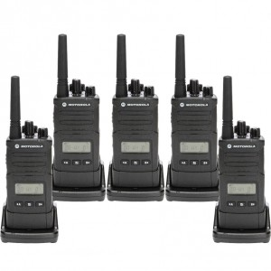 Motorola RM RMU2080d Radio Five Pack