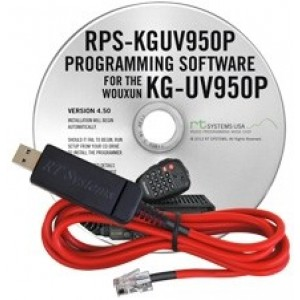 RT Systems Programming Software and Cable For Wouxun KG-UV950P