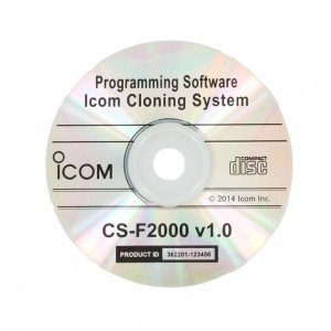 Icom Programming Software for F1000/F2000 Radios (CSF2000)