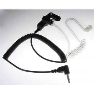 XLT SE110 Listen-Only Surveillance Earpiece w/Coil Cord