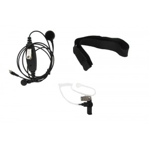 XLT TM350 Adjustable Single Transducer Throat Mic