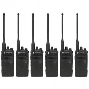 Motorola RDX RDU4100 Radio Six Pack