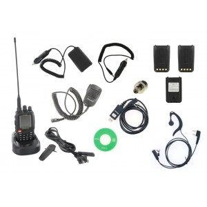 Wouxun KG-UV8E LE Tri-Band Two Way Radio with Accessory Kit