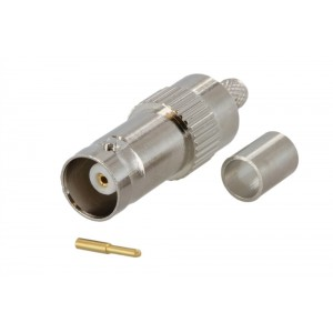 BNC Female Connector For RG-58 Coax