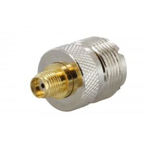SMA Female to UHF Female (SO-239) Adapter