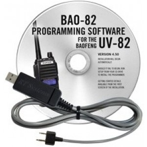 RT Systems Programming Software and Cable For Baofeng UV-82