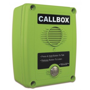 Ritron Q7 Series 2-Way Radio Callbox with Relay / Voice Message
