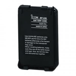 Icom BP-226 Alkaline Battery Case