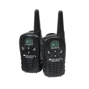 Midland LXT112VP Two Way Radios With AC Wall Charger