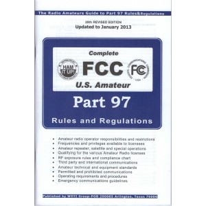 FCC Part 97 Rule Book - Amateur Rules and Regulations