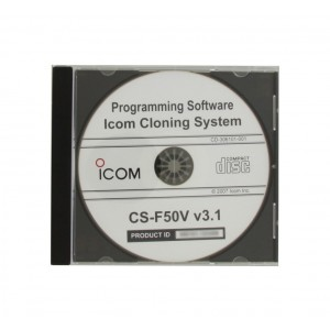 Icom CS-F50V Programming Software