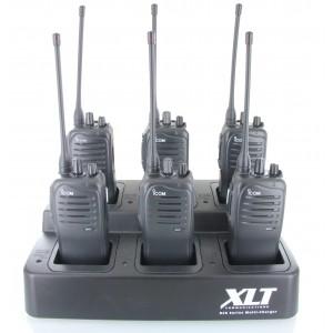 Icom F4011 Six Pack + Multi-Charger