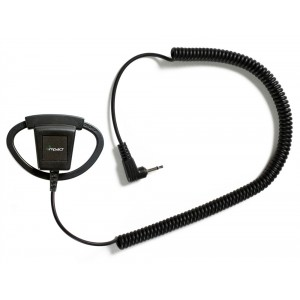 Impact Platinum PRSMA-D1 Listen Only D-Ring Earpiece