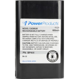 Power Products 11.3V / 600 mAh / NiCd Battery (MA181)