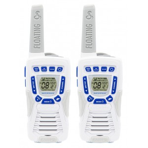 Cobra ACXT1035R FLT Floating Waterproof FRS Two Way Radios (White)