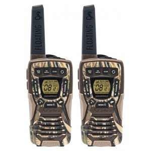 Cobra ACXT1035R FLT Floating Waterproof FRS Two Way Radios (Camouflage)