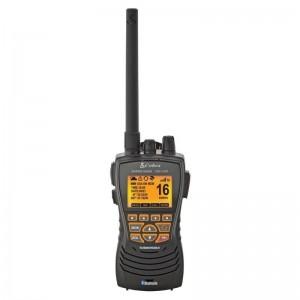 Cobra MR HH600 FLT GPS BT Floating Marine Radio with GPS and Bluetooth (Black)