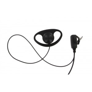D-Ring Earpiece For Motorola CLS1410 - Daily Rental