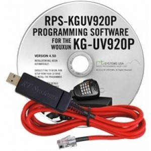RT Systems Programming Software and Cable For Wouxun KG-UV920P