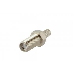 RF Industries SMA F Connector For RG58/195 (straight/crimp)