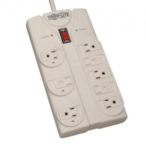 Tripp Lite TLP808 Surge Suppressor (8 outlet/1440 joule)