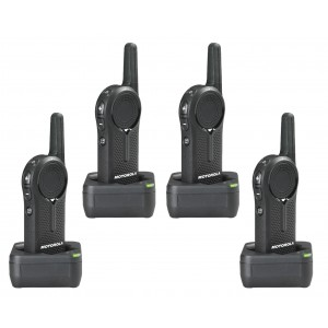 Motorola DLR1020 Radio Four Pack