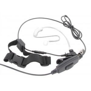 XLT TM250-MB1 Adjustable Single Transducer Throat Mic
