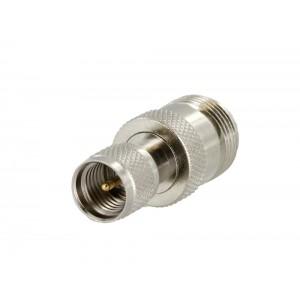 Tram 5385 Mini-UHF Male to N Female Adapter