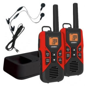 Uniden GMR3055-2CKHS Two Way Radios w/ Headsets