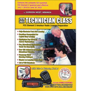 Gordon West Technician Class Manual (2018-22) w/ Bonus Audio CD