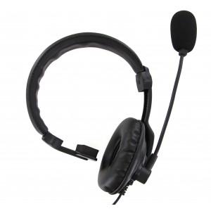 XLT Medium Duty Lightweight Headset w/ PTT and Boom Microphone