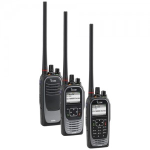 Icom F3400D / F4400D Digital Two Way Radio w/ GPS and Bluetooth