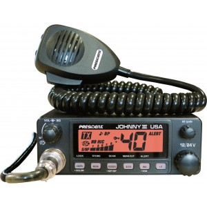 President JOHNNY III USA CB Radio
