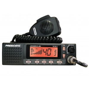 President JOHNSON II USA CB Radio