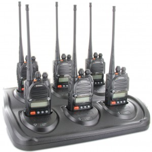 Wouxun KG-805M MURS Two Way Radio Six Pack + Multi-Charger
