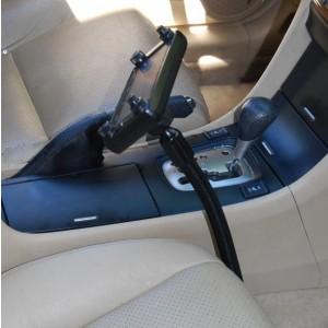 "Lido Radio LM-300-22 22"" Vehicle Seat Rail Mount for Two Way Radios"