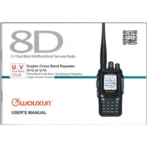 Wouxun KG-UV8D User Manual