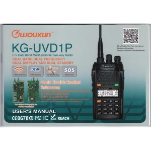 Wouxun KG-UVD1P User Manual