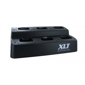 XLT 6-Unit Multi-Charger For Icom BP-279/BP-280 (F1000/F2000/F1000D/F2000D)