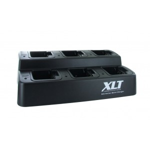 XLT 6-Unit Multi-Charger For Vertex Standard UNI Batteries/Radios