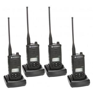 Motorola RDX RDU4160d Radio Four Pack