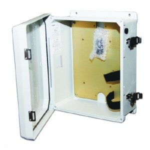 Ritron LMH-100 Weatherproof fiberglass housing For Loudmouth Wireless PA Systems