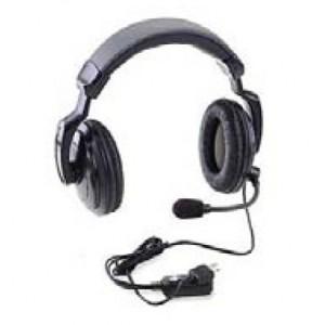 Ritron RHD-4X Dual Ear Headset w/ In-Line PTT