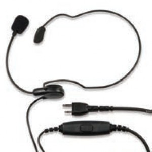 Ritron RHD-6X Behind-the-Neck Headset with Boom Microphone