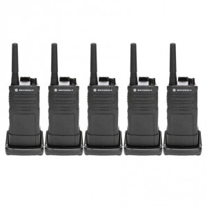 Motorola RM RMU2040 Radio Five Pack