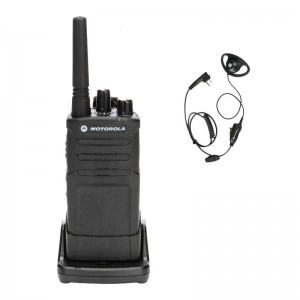 Motorola RM RMU2080 Radio + D-Ring Earpiece