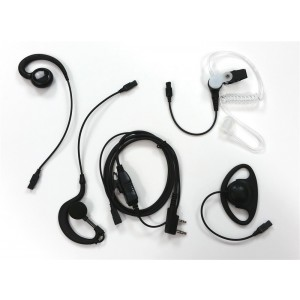 XLT Snap Series Single Wire Interchangeable Earpiece Kit